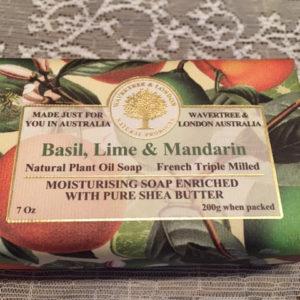 basil and lime